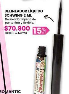 Oferta de Delineador Líquido SCHWING por $70900