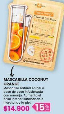 Oferta de Mascarilla COCONUT orange por $14900