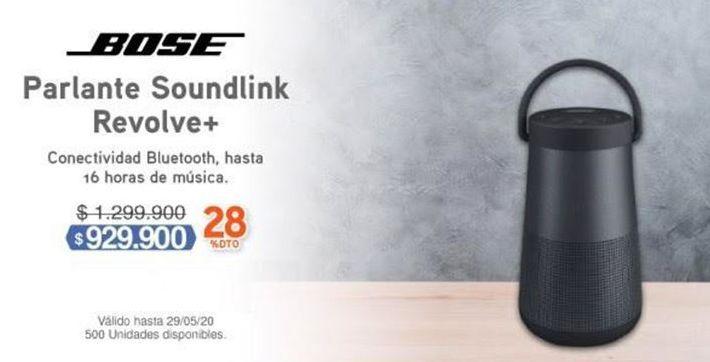 Oferta de Parlantes bluetooth Bose por $929900
