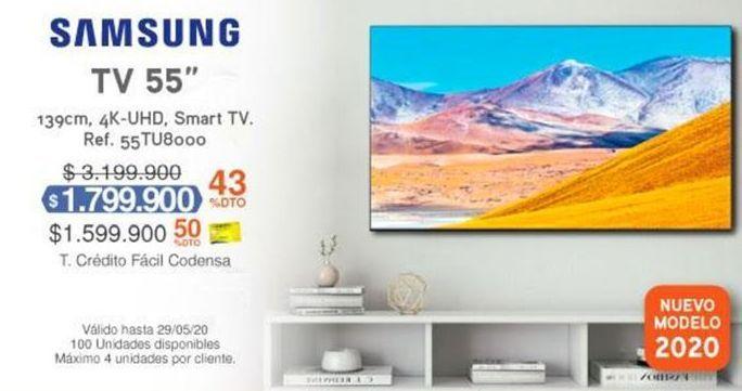 Oferta de Smart tv led 55'' Samsung por $1799900
