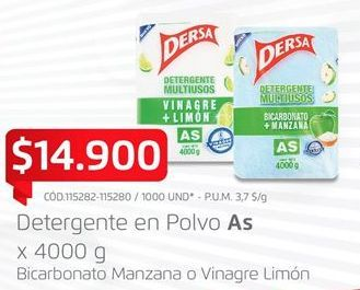 Oferta de Detergente en polvo As por $14900