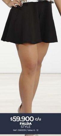 Oferta de Minifalda por $59900