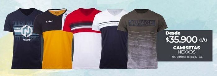 Oferta de Camiseta hombre por $35900