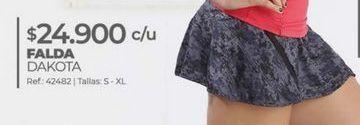 Oferta de Minifalda por $24900