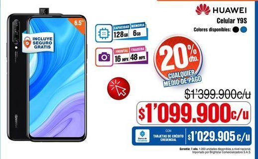 Oferta de Celular libre Huawei por $1099900