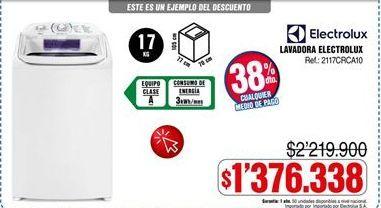 Oferta de Lavadora carga superior Electrolux por $1376338
