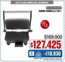 Oferta de Parrilla eléctrica Black & Decker por $127425