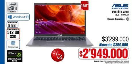Oferta de Computador Portátil Asus por $2949000
