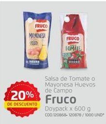 Oferta de Salsas Fruco por