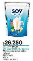 Oferta de Leche enriquecida Soy Plus por $26250