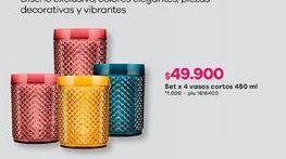 Oferta de Vasos por $49900