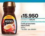 Oferta de Café instantáneo Nescafé por $15950