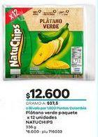 Oferta de Banano Natuchips por $12600