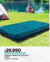 Oferta de Colchón inflable Intex por $29990