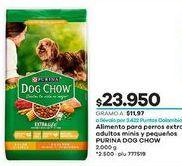 Oferta de Comida para perros Dog chow por $23950