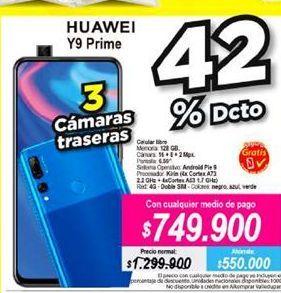 Oferta de Celulares Huawei por $749900