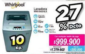 Oferta de Lavadora Whirlpool por $999900