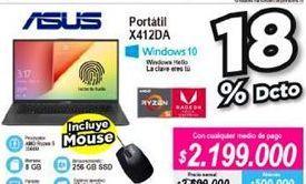 Oferta de Computador Portátil Asus por $2199000