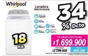 Oferta de Lavadora Whirlpool por $1699900
