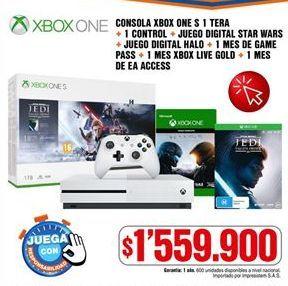 Oferta de Xbox One por $1559900