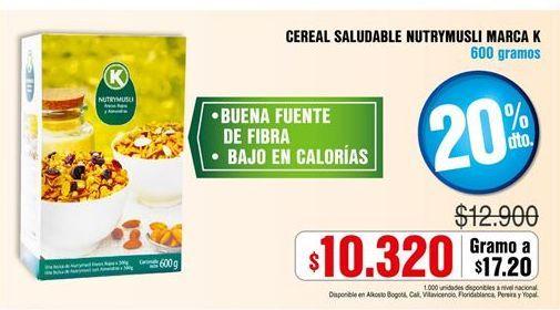 Oferta de Cereales kelim por $10320