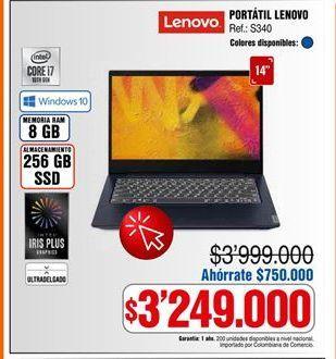 Oferta de Computador Portátil Lenovo por $3249000
