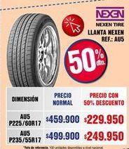Oferta de Llantas Nexen por $229950