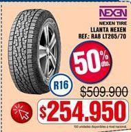 Oferta de Llantas Nexen por $254950