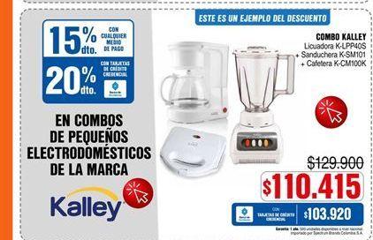 Oferta de Licuadora Kalley por $110415