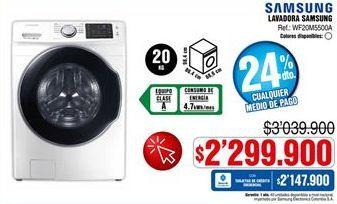 Oferta de Lavadora Samsung por $2299900