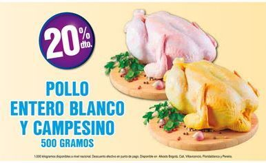 Oferta de Pollo por