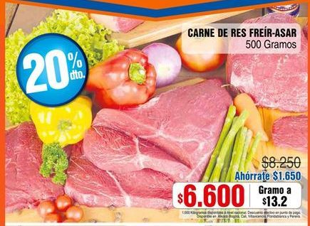 Oferta de Carne de res por $6600