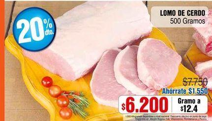 Oferta de Lomo de cerdo por $6200