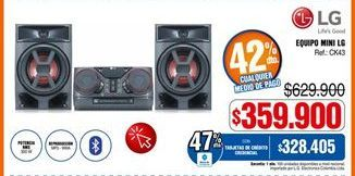 Oferta de Equipo de sonido LG por $359900