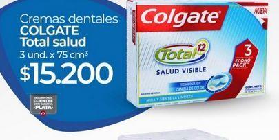 Oferta de Crema dental Colgate por $15200