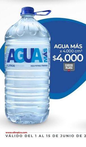 Oferta de Agua Mas por $4000
