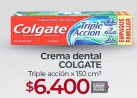 Oferta de Crema dental Colgate por $6400
