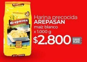 Oferta de Harina de maíz Arepasan por $2800