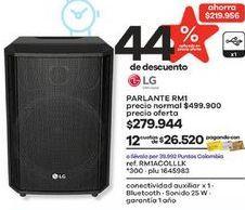 Oferta de Parlantes LG por $279944