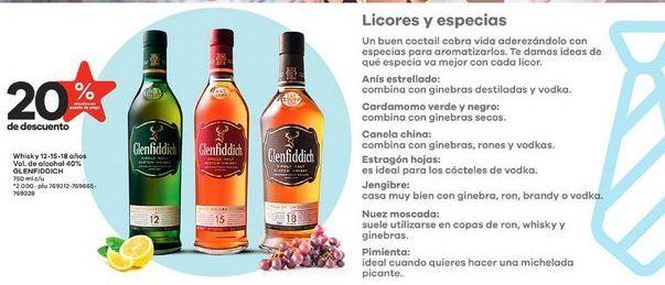 Oferta de Whisky por