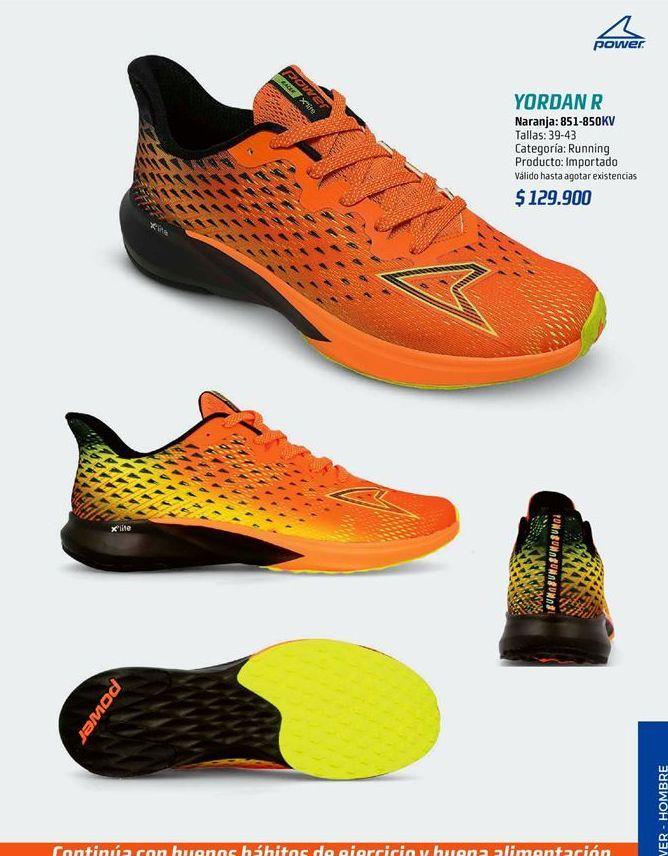 Oferta de Zapatillas de running por $129900