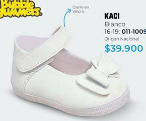 Oferta de Baletas bebé por $39900