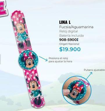 Oferta de Reloj infantil por $19900