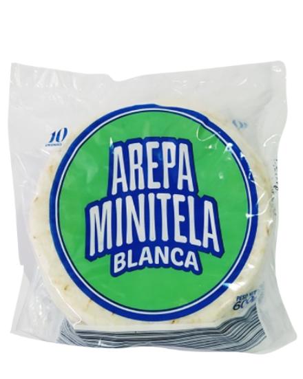 Oferta de Arepa Minitela Blanca 10 Und 600 Gr por $1150