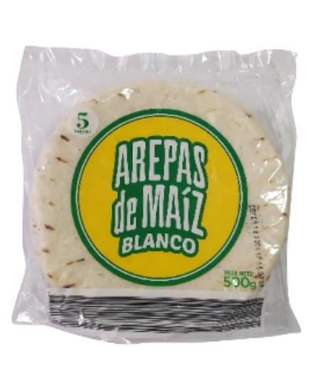 Oferta de Arepa Blanca 5 Und 500 Gr por $1060