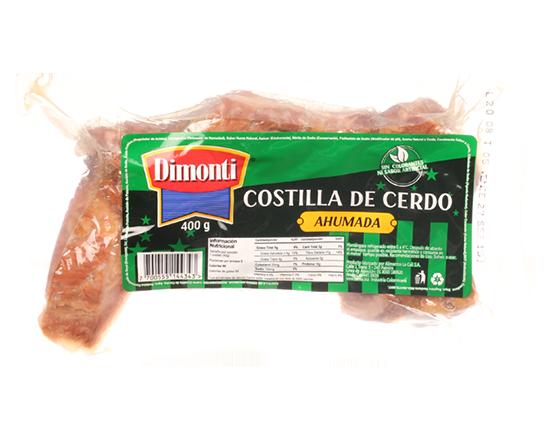 Oferta de Costilla de Cerdo Ahumada  400 Gr por $9680