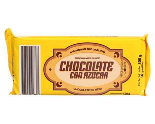Oferta de Chocolate de Mesa con Azúcar 20P 500 Gr por $4150
