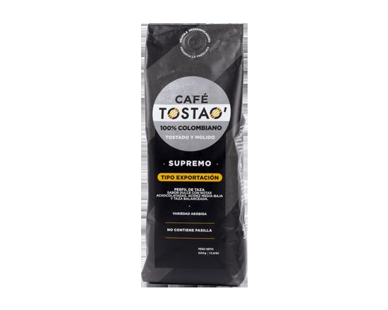 Oferta de Café Tostao Supremo 500 Gr por $16500