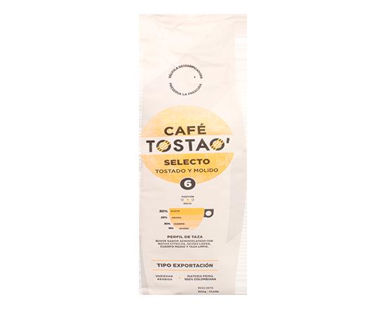 Oferta de Café Tostado y Molido Tostao 500 Gr por $6990