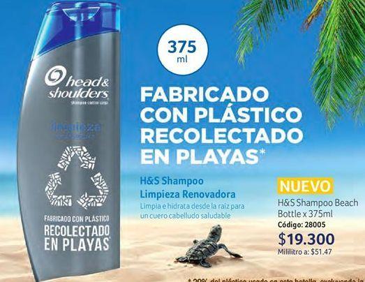 Oferta de Shampoo H&S por $19300